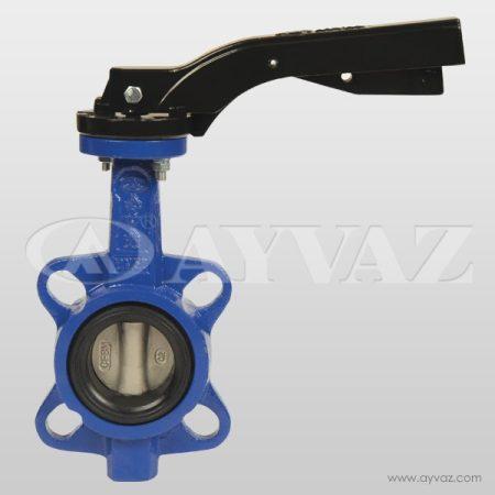 Pillangószelep DN100 PN16 KV-7 tip. EPDM / nikelezett tányér